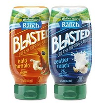 Hidden Valley Ranch Blasted Creamy Dipping Sauce, Zestier Ranch and Bold Buffalo
