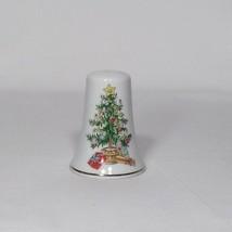 Vintage LEFTON Christmas Tree Pattern Salt Shaker 1075 Made In Japan Rep... - $2.99