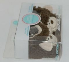 Baby Snoozies 1300Monk Brown Tan Cozy Sherpa Booties Monkey Size 0 to 3 Months image 3