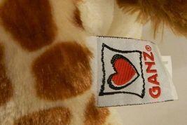 "Webkinz Ganz GIRAFFE HM403 Stuffed Beanbag Plush No Code 11"" tall image 5"