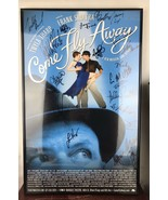 Come Fly Away 14 x 22 Window Card poster Broadway Signed/framed - $92.57