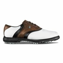 NEW! FootJoy FJ Originals Golf Shoes- 45330 White/Brown- 9 Medium - $108.78