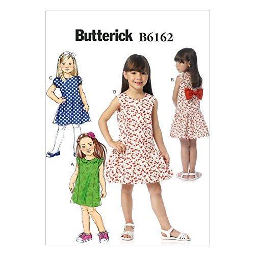 Butterick Patterns B6162CL0 Childrens's/Girls' Dress Sewing Template, CL (6-7-8) - $14.70