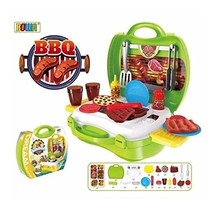 Battery Operated Bbq Grill Set In Case - $14.99