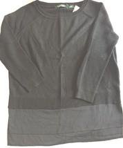 """RALPH LAUREN """"LAUREN"""" Para Dama Color Negro Jersey De Cuello Redondo Alg... - $83.04"""