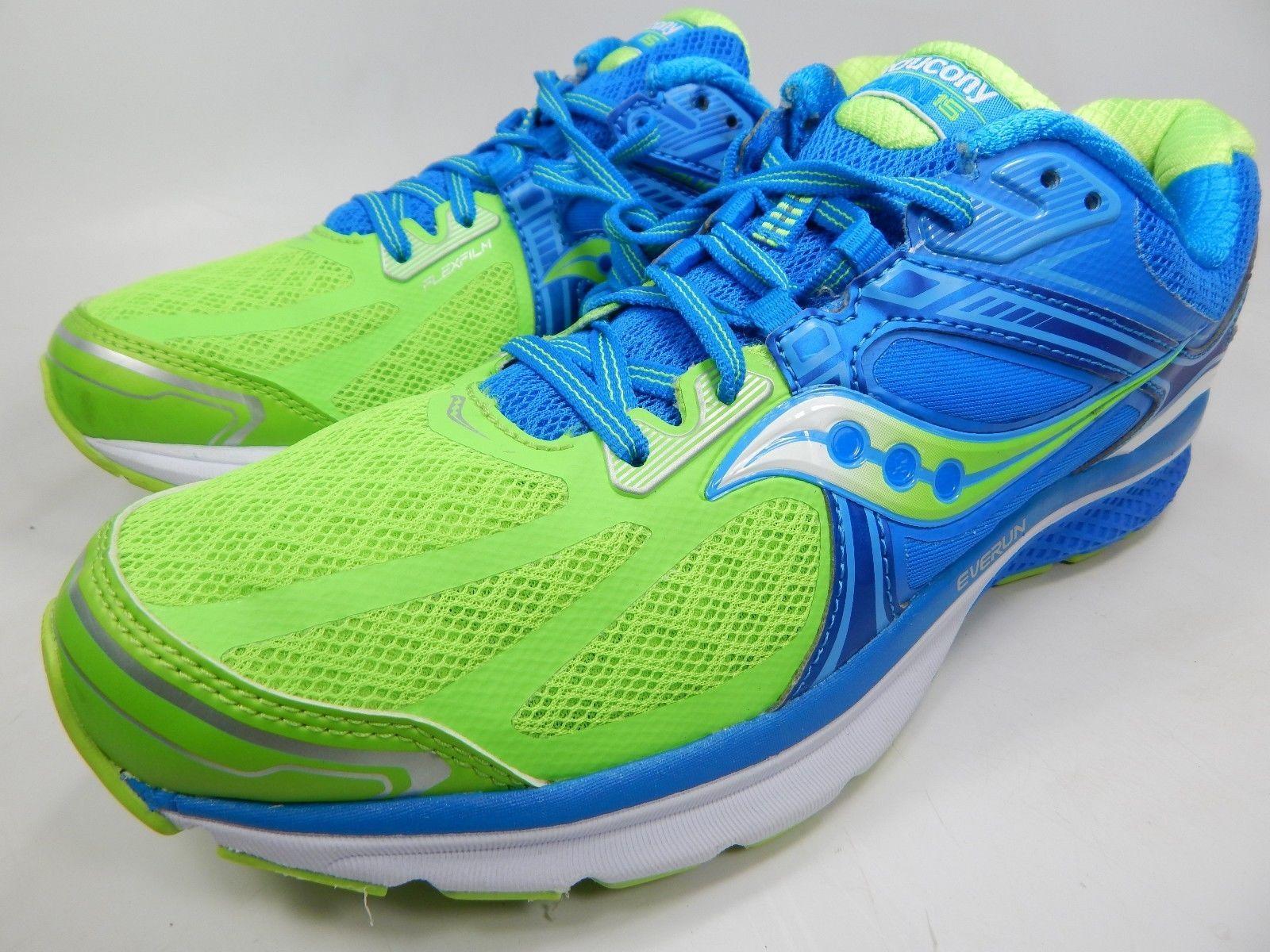 Saucony Omni 15 Women's Running Shoes Size US 11.5 M (B) EU 44 Blue S10315-2