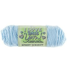 Hobby Lobby I Love This Yarn Sport Weight in Soft Blue #246611
