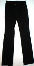 New J Brand Jeans Womens 26 Black Mid Straight Leg Velvet 805 Tall 27 X ... - $27.60