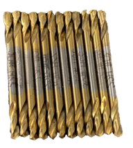 "12 Titanium Drill bits Double Ended 1/8"" - $5.63"