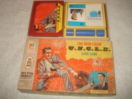 Vintage 1965 the Man From Uncle (U.N.C.L.E.) Card Game  Milton Bradley Complete - $22.76