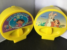2 STORYTIME THEATER MOVIE CARTRIDGES LOT - Dora Lady Tramp P - $9.89
