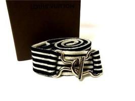 Authentic Vintage Louis Vuitton Belt Stretch rubber Belt V413-14 - $120.00