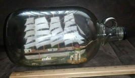 """Four mast sailboat model in a jar (about 12,5"""" long) - $9.99"""