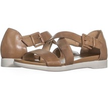naturalizer Elliott Ankle Strap Flat Sandals  794, Barley, 8.5 US / 38.5 EU - $31.67