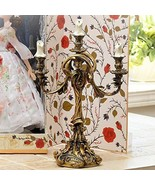 2000 Beauty and the Beast Lumiere Candle stand Candle holder figure orna... - $925.65