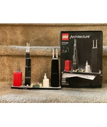 Lego Architecture CHicago Illinois  21033 Pre-owned with instructions an... - $98.99