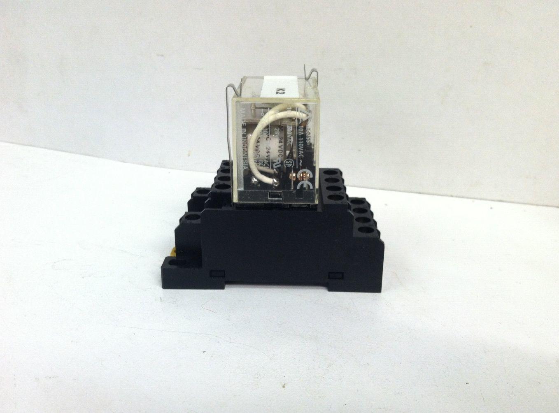 Omron 2 M4x12 Power Socket W Iec255 Relay And 48 Similar Items G7l S L1600