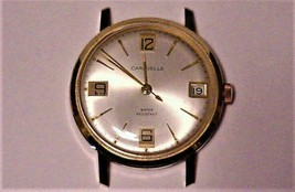Nice Clean 1971 CARAVELLE Automatic Men's Watch w/Day at 3 o'clock Use or Parts - $113.85