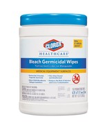 Bleach Germicidal Wipes, 6 X 5, Unscented, 150/canister, 6 Canisters/carton - $206.62 CAD