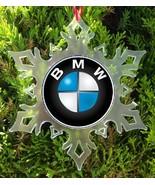 BMW CAR  CHRISTMAS ORNAMENT -  SNOWFLAKE XMAS ORNAMENT - $11.99