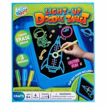 Light-Up Doodle Tablet Great For Ages 6+! Batteries Not Included! - $11.43