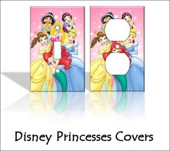 Disney Princesses (Ariel, Belle) Light Switch Covers Home Decor Outlet - $8.90+