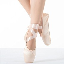 KUKOME New Pink Ballet Dance Toe Shoes Professional Ladies Satin Pointe ... - $20.66