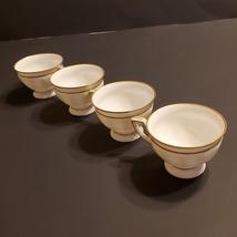 Set of 4 Vintage Rosenthal Maria White Demitasse Cups  - $25.00