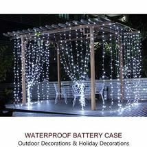 Bright Zeal 66' Long LED Cool White String Lights Outdoor Waterproof Fairy Light image 7