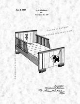 Bed Patent Print - Gunmetal - $7.95+