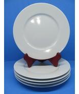 """IKEA 365+ Susan Pryke White SALAD PLATES Luncheon Dessert  8.5"""" Excellent - $34.25"""