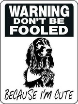 5029 IRISH SETTER ALUMINUM DOG SIGN VINYL OUTDOOR INDOOR 9 X 12 - $14.71
