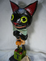 Bethany Lowe Smiley Black Cat no. HH9218 image 4