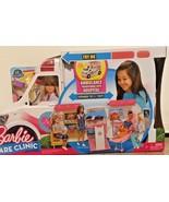 New Barbie Ambulance Clinic Hospital Playset - $125.02