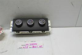 2007-2014 GMC Yukon XL 1500 Heater/AC Temp Control W/O Bezel 5109353 1 1... - $29.69