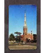 Vintage Postcard 1952 1950s First Christian Church Augusta Georgia  - $3.99
