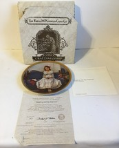 Norman Rockwell Collector Plate Waiting At The Dance Knowles 1993 - $11.90