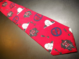 Surrey Neck Tie Mike Luckovich No Rush Limbaugh Imported Silk 1996 Made in USA - $12.99