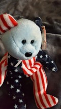 TY BEANIE BABY Beanie Babies *1999 SPANGLE BLUE FACE* ERROR, AUTHENTIC, ... - $1,000.00