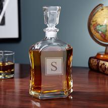 Argos Block Monogram Liquor Decanter - $59.95