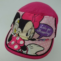 Minnie Mouse Disney Let's Go Shopping Ball Cap Hat Fitted Girls - $13.85