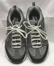Skechers USA Larson Sotes Memory Foam Shoe Charcoal/Black Men's Sz 9 NWOB - $35.64