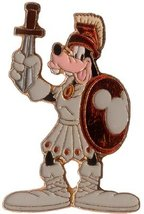 Disney Goofy Gladiator toga with sword rare Pin/pins - $87.45