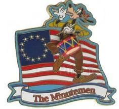 Disney Goofy The Minutemen Event Pin/Pins - $29.99