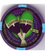 $25 HARD ROCK HOTEL Las Vegas Cinco de Mayo 2010 Casino Chip - $39.95