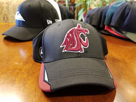 Washington State Cougars WSU Fitted Ball Cap One Fit Hat L/XL - $19.99