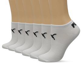 Puma Women's 6 Pack Low Cut Classic Sport Athletic Gym Moisture Control Socks image 4