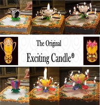 1 Rainbow + 1 BL/WH  Amazing Lotus Flower Music Happy Birthday EXCITING ... - $14.99