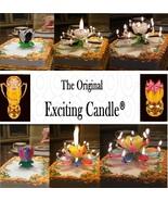 1 Rainbow + 1 BL/WH  Amazing Lotus Flower Music Happy Birthday EXCITING ... - $14.99