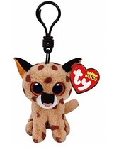 Ty Beanie Boos Buckwheat The Brown Linx Clip 3 Keychain - $21.53